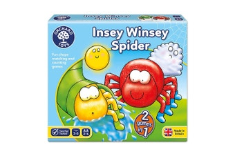 Orchard Toys Insey Winsey Spider Board Game