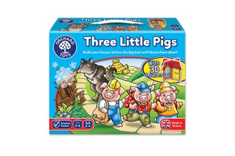 Orchard Toys Three Little Pigs Board Game