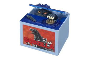 Godzilla Coin Stealing Money Bank