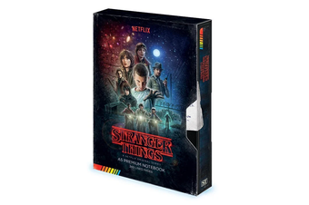 Stranger Things: VHS Style Notebook