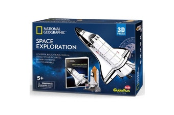 National Geographic Space Exploration 3d Puzzle Kit
