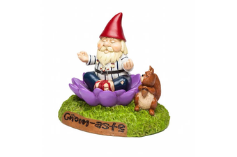 The Gnome-Aste Meditating Garden Gnome