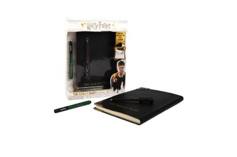 WOW! Stuff Collection Harry Potter Tom Riddle's Diary with Invisible Ink Pen & Wand