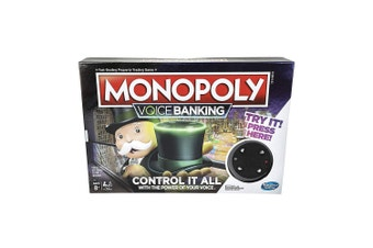 Monopoly Electronic Voice Banking Edition Board Game