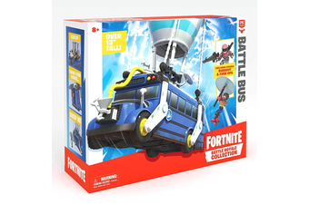 Fortnite Battle Royale Collection Battle Bus Figure Set
