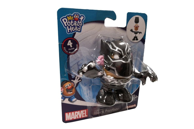 Dick Smith Playskool Mr Potato Head Marvel Mixable Mashable Heroes As Black Panther Set Action Toys Figurines