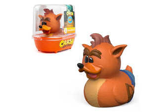 Tubbz Crash Bandicoot: Crash Bandicoot Cosplaying Duck Figure