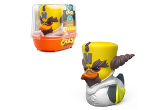 Tubbz Crash Bandicoot: Dr Cortex Cosplaying Duck Figure