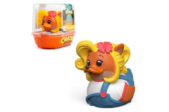 Tubbz Crash Bandicoot: Coco Bandicoot Cosplaying Duck Figure