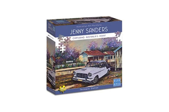 Blue Opal Jenny Sanders Thirlmere Station 1000 Piece Jigsaw Puzzle