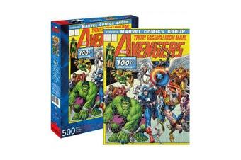 Marvel Avengers Retro Cover 500 Piece Jigsaw Puzzle