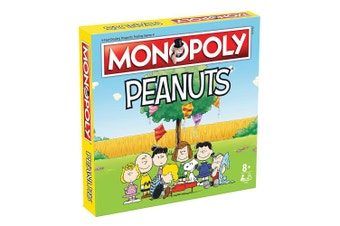 Monopoly: Peanuts Edition Board Game