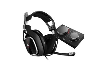 ASTRO A40 TR Gen 4 Wired Headset (Black/Red) for Xbox One, PC & Mac