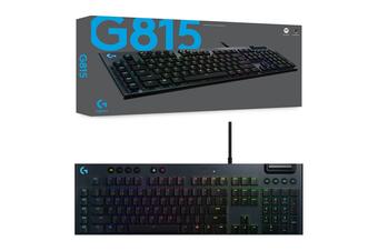 Logitech G815 Lightsync RGB GL Clicky Mechanical Gaming Keyboard