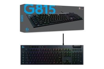 Logitech G815 Lightsync RGB GL Linear Mechanical Gaming Keyboard