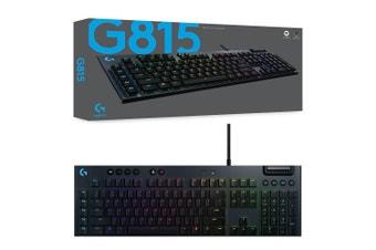 Logitech G815 Lightsync RGB GL Tactile Mechanical Gaming Keyboard