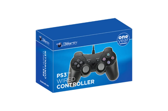 3rd Earth Wired Controller Black for Playstation 3