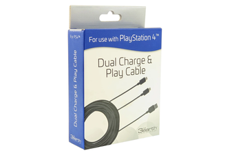 3rd Earth Dual Charge & Play Cable for PS4