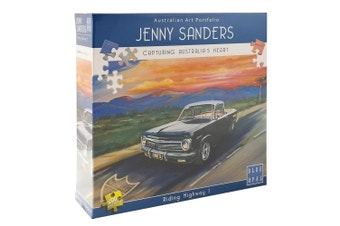 Jenny Sanders Riding Highway 1 1000 Piece Jigsaw Puzzle