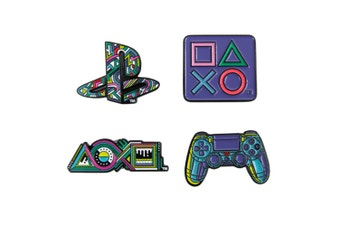 Numskull Playstation 25th Anniversary Pin Badge Set
