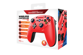 Powerwave Wireless Controller Red for Nintendo Switch