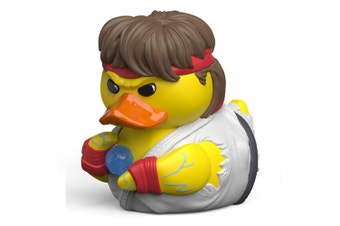 Tubbz Street Fighter: Ryu Cosplaying Duck Figure