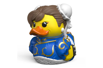 Tubbz Street Fighter: Chun-Li Cosplaying Duck Figure