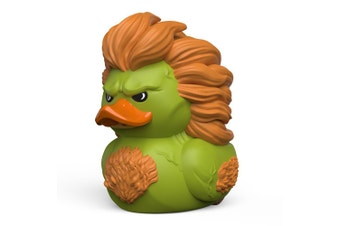 Tubbz Street Fighter: Blanka Cosplaying Duck Figure