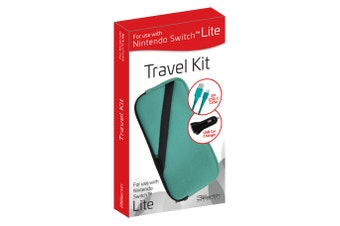3rd Earth Travel Kit for Nintendo Switch Lite (Turquoise)