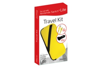3rd Earth Travel Kit for Nintendo Switch Lite (Yellow)