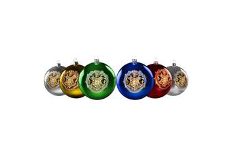 Harry Potter Hogwarts Christmas Baubles Set of 6