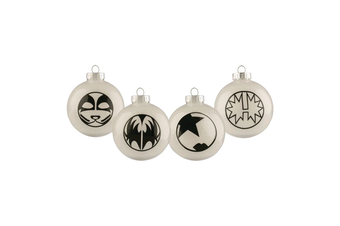 Kiss Bauble Set of 4