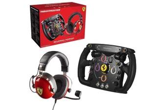 Thrustmaster Scuderia Ferrari Race Kit: T.Racing Scuderia Ferrari Edition & Ferrari F1 Wheel Add-On