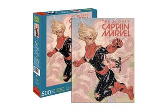 Aquarius Marvel: Avengers, Captain Marvel Comic Cover 500 Piece Jigsaw Puzzle