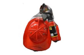 Fire Fighter Helmet & Extinguisher Play Set
