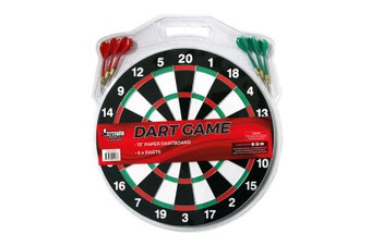 Formula Sports 15 Inch Dartboard with 6 Darts