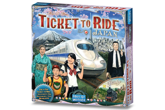 Ticket to Ride Japan + Italy Expansion Board Game