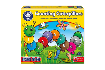 Orchard Toys Counting Caterpillars Card Game