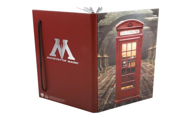 Harry Potter Ministry Of Magic 3D A5 Notebook