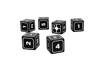 Alien the Role Playing Game Base Dice Set (Black)