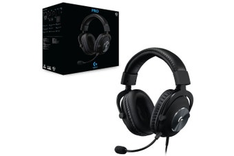Logitech G Pro X Wired Gaming Headset with Blue Voice