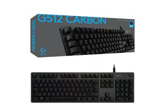 Logitech G512 Carbon GX Red RGB Mechanical Gaming Keyboard