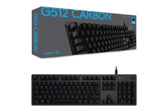Logitech G512 Carbon GX Brown RGB Mechanical Gaming Keyboard