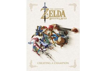 The Legend of Zelda: Breath of the Wild Creating a Champion Artbook