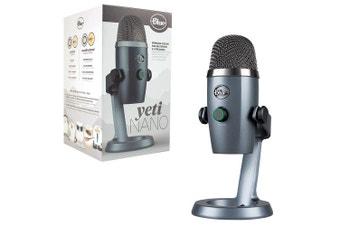 PRE-ORDER: Blue Yeti Nano Professional USB Microphone