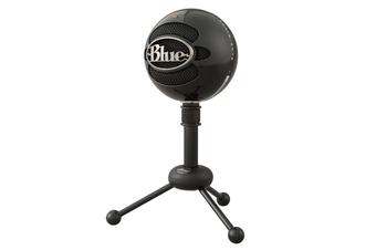 Blue Snowball Professional USB Microphone (Gloss Black)