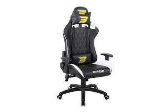 Brazen Phantom Elite PC Gaming Chair (White)