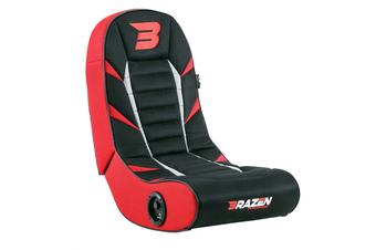 PRE-ORDER: Brazen Python 2.0 Bluetooth Surround Sound Gaming Chair (Red)
