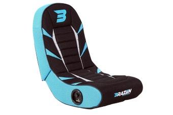 PRE-ORDER: Brazen Python 2.0 Bluetooth Surround Sound Gaming Chair (Blue)