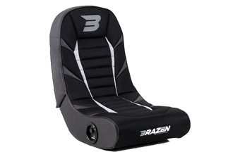 PRE-ORDER: Brazen Python 2.0 Bluetooth Surround Sound Gaming Chair (Grey)
